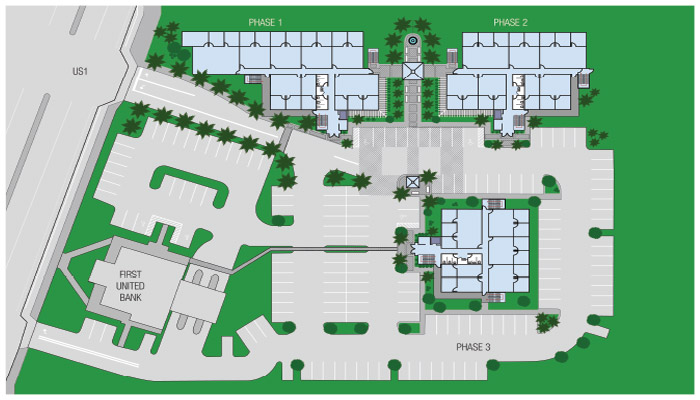 biscayne office village site plan thumb